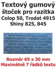 Štoček do razítka Colop printer 50, Trodat 4914
